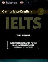 Luyen thi Tieng ANh IELTS(Cambridge IELTS 10 )