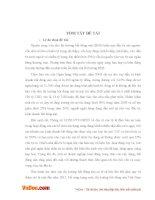 QUỸ ĐẦU TƯ TÍN CHẤP BẤT ĐỘNG SẢN REIT VÀ CƠ HỘI ÁP DỤNG MÔ HÌNH REIT