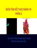 ĐIỆN tâm đồ THỰC HÀNH y4   PHẦN 2, đại học y KHOA PHẠM NGỌC THẠCH