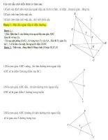 mặt cầu,lí thuyết và bài tập có giải chi tiết,