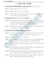 LY THUYET HINH HOC KHONG GIAN MON TOAN 12 FULL