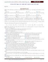 300 câu chuẩn dễ môn vật lí của thầy đỗ ngọc hà