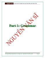 NEW tuyển chọn bài tập chuyên đề ngữ pháp ôn thi thpt quốc gia môn tiếng anh có đáp án và giải thích chi tiết từng câu 133 trang