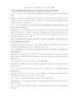 ĐỀ CƯƠNG môn PHÁP LUẬT KINH tế có đáp án