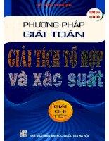 phuong phap giai toan giai tich to hop va xac suat (nxb dai hoc quoc gia 2011)   ha van chuong  247 trang