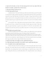 BẢO HỘ QUYỀN TÁC GIẢ ĐỐI VỚI TÁC PHẨM VĂN HỌC NGHỆ THUẬT DÂN GIAN