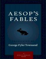 Aesops-Fables-Truyện ngụ ngôn Tiếng Anh