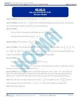 Đề số 11  đề thi thử thpt quốc gia 2016 môn toán, khóa pen i n3 thầy nguyễn bá tuấn
