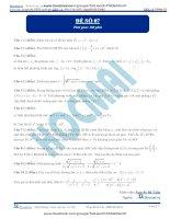 Đề số 07  đề thi thử thpt quốc gia 2016 môn toán, khóa pen i n3 thầy nguyễn bá tuấn