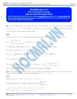 Phương pháp tìm điểm qua sơ đồ tư duy 2 và 3