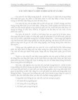 Giáo trình môn lý thuyết thống kê  phần 2