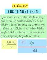 Bài giảng toán giải tích 1   chương 7  hàm số vi phân