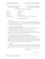 Kế toán các phần hành tại công ty CPNT SHINEC