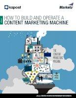 Content marketing machine ebook