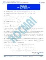 Đề số 02  đề thi thử thpt quốc gia 2016 môn toán, khóa pen i n3 thầy nguyễn bá tuấn