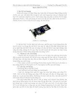 Giáo trình bảo trì nâng cao máy tính và hệ thống mạng  phần 2