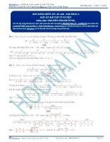 Bất đẳng thức AM – GM (Côsi) và giới thiệu dạng biến thể đồng cấp bậc 2