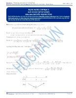 Bất đẳng thức AM – GM (Côsi) và giới thiệu dạng biến thể đồng cấp bậc 2 (tiếp)