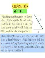 Bài giảng toán giải tích 1   chương 4 số thực