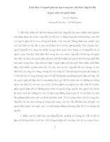 Cảm thức về người đẹp trong thơ chữ Hán Nguyễn Du từ góc nhìn nữ quyền luận