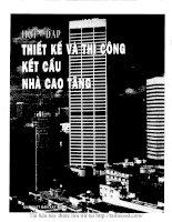 Hỏi đáp thiết kế và thi công kết cấu nhà cao tầng tập 1 (NXB xây dựng 1996)   triệu tây an, 374 trang