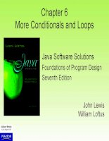 LESSON 06 more conditionals and loops Lập trình Java