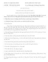 Bài thu hoạch học tập nghị quyết đại hội Đảng lần thứ XII