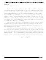 Tổng hợp các dạng lý thuyết môn Hóa học trong các kì thi Đại Học ( full đáp án)