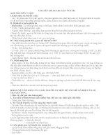 CHUYÊN đề DI TRUYỀN học NGƯỜI LUYỆN THI THPT QUỐC GIA SINH 12