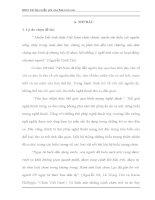 ĐẶC điểm hệ THỐNG BIỂU TƯỢNG CHIM TRONG CA DAO VIỆT NAM