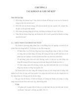 Bài giảng môn học nguyên lý kế toán   chương 3  tài khoản và ghi sổ kép