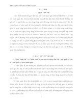 TIỂU LUẬN PHÂN TÍCH và CHỨNG MINH TÍNH hạn CHẾ, PHÁI SINH TRONG QUYỀN NĂNG CHỦ THỂ LUẬT QUỐC tế của tổ CHỨC QUỐC tế LIÊN CHÍNH PHỦ