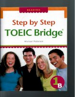 Step by step TOEIC bridge reading 1b (luyen thi toiec)