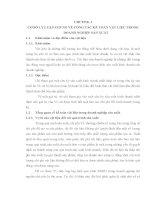 Đề tài hệ thống hóa vấn đề liên quan đến kế toán vật liệu Công ty cổ phần chế biến tinh bột sắn xuất Bình Định -