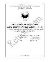 ỨNG DỤNG PLC s7 200; s7 300 điều KHIỂN cấp PHÔI tự ĐỘNG CHO máy CNC