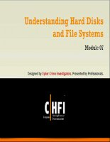 Module 07 understanding hard disks and file systems
