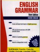Schaum''s Outline of English Grammar, Third Edition (luyen thi TOIEC)