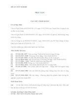 thuyết minh đồ án tốt nghiệp công trình CHUNG CƯ LUCKY TOWER, Số 5 Công Trường Mê Linh,Quận 1, Tp. Hồ Chí Minh