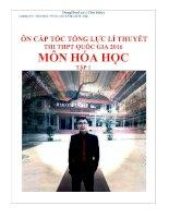 LY THUYET MON HOA HOC ( Luyen thi dai hoc 2016)