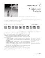 Bài giảng hoá phân tích volume metric analysis