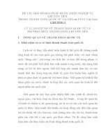 MỘT số GIẢI PHÁP HOÀN THIỆN NGHIỆP vụ CHUYỂN TIỀN TRONG THANH TOÁN QUỐC tế tại NHNN  PTNT VIỆT NAM