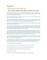 Triệu chứng học nội khoa: Chương IV nội tiêu hóa