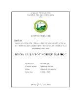 Đánh giá công tác cấp giấy chứng nhận quyền sử dụng đất trên địa bàn xã phúc lộc – huyện ba bể –tỉnh bắc kạn giai đoạn 2012 – 2014