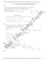 bài tập đồ thị trong hóa học