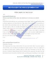 Tuyển tập các bài luận đạt điểm cao - Khóa luyện thi THPTQG cùng cô Vũ Mai Phương