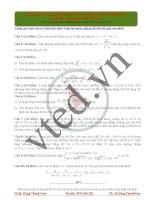 Free luyện giải đề 2016 môn toán thầy đặng thành nam đề số 06
