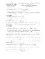 free đề thi thử môn toán trường thpt lý thái tổ lần 2