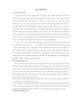 báo cáo thực tập tại Công ty TNHH Tư vấn thiết kế và xây dựng Huy Hoàng