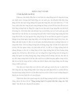 TĂNG TRƯỞNG KINH TẾ VÀ PHÁT TRIỂN BỀN VỮNG Ở VIỆT NAM