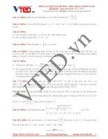 Free luyện giải đề 2016 môn toán thầy đặng thành nam đề số 02
